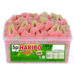 Haribo Happy Cherries Z!NG Tub