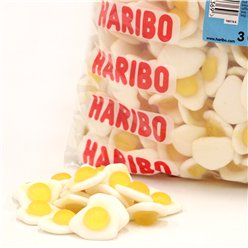Haribo Fried Eggs Bulk Bag - 3kg