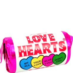 Love Hearts Mini Rolls - 100pk