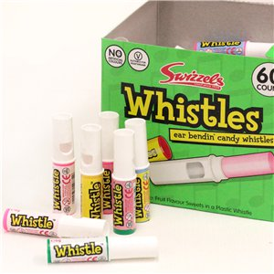 Candy Whistles - 60pk