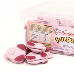 Fun Gums Pig's Mugs Tub