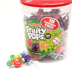 Swizzels Fruity Pops Bulk Tub