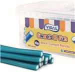 Vidal Blackcurrant Pencils Tub