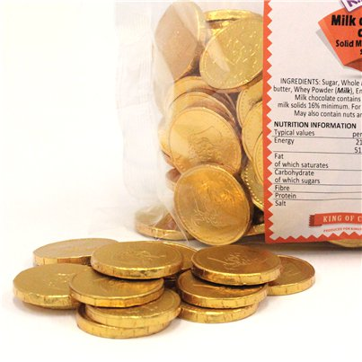 Chocolate Coins - Chocolate Gold Coins | Party Delights