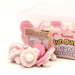 Fun Gums Giant Mushrooms Tub