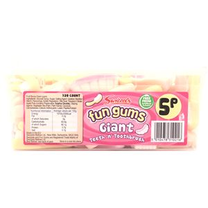 Fun Gums Giant Teeth 'n' Toothbrush Tub
