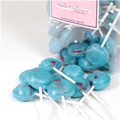 Bubblegum Blue Lolly Jar