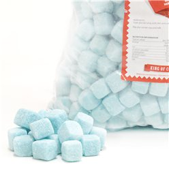 Blue Raspberry Cubes 3kg Bulk Bag