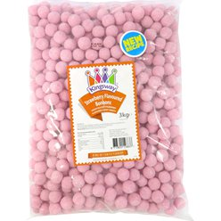 Strawberry Flavour Bonbons - 3kg