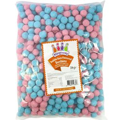 Bubblegum Bonbons 3kg Bulk Bag