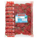 Haribo Giant Strawberries 3kg Bulk Bag
