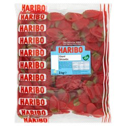 Haribo Giant Strawberries - 3kg