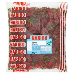Haribo Happy Cherries - 3kg - Bulk Sweets Bag