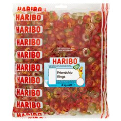 Haribo Friendship Rings - 3kg