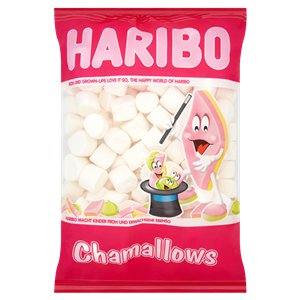 Haribo Chamallows 1kg Bulk Bag