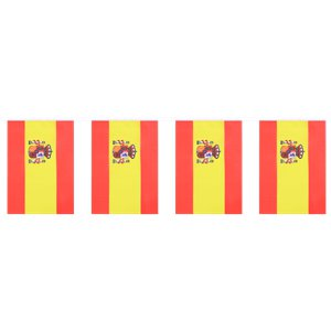 Spain State Flag Bunting - 6m
