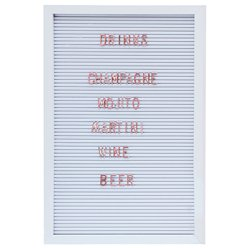 Botanical Wedding Large Copper Letter Peg Board - 40cm