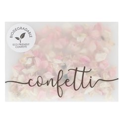 Botanical Wedding Biodegradable Dried Petal Confetti