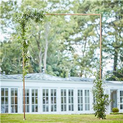 Botanical Wedding Copper Frame Arch - 2m