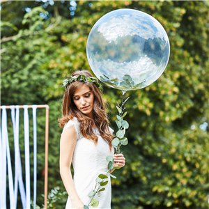 Botanical Wedding Foliage Orb Balloon Kit