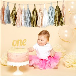 1st Birthday Cake Smash Kit - Neutral