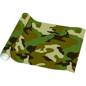 Camouflage Wrapping Paper - 1.5m Roll