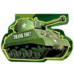 Camouflage Thank You Cards