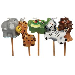 Jungle Animal Candles
