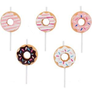 Doughnut Cake Candles
