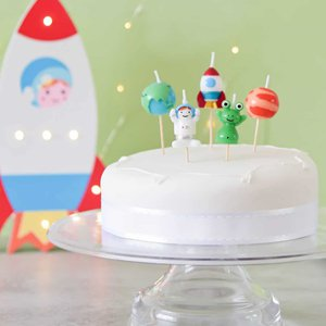 Space Cake Candles