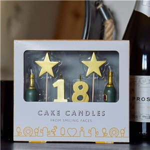 18th Milestone Cake Candle