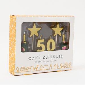 50th Milestone Cake Candle Previous Next