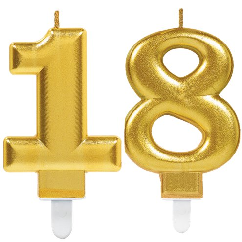 18th Birthday Candles