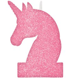 Glitter Unicorn  Candle