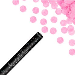 Pink Ready To Pop Confetti Cannon - 60cm