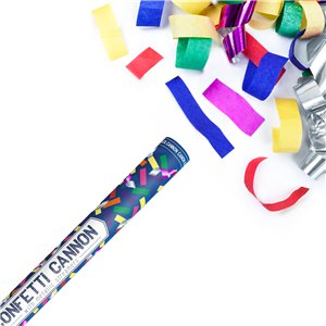 Multi Coloured Confetti Cannon - 60cm