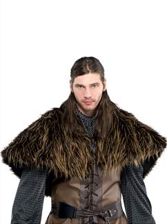 Furry Shoulder Cape