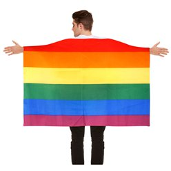 Pride Flag Body Cape