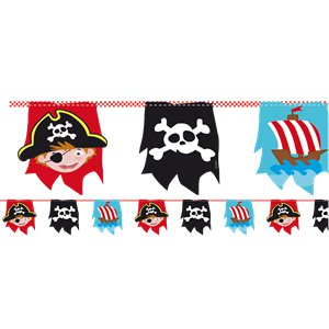 Captain Pirate Bunting - 4m