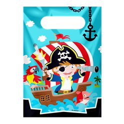 Captain Pirate Party Bags