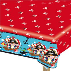 Captain Pirate Tablecover - 1.2m x 1.8m Plastic