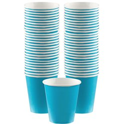 Turquoise - 340ml Paper Coffee Cups