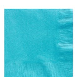 Turquoise Luncheon Napkins - 33cm Square 2ply Paper