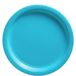 Turquoise Plates - 23cm Paper Party Plates