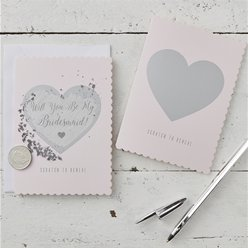 Will You Be My Bridesmaid Scratch & Reveal Cards