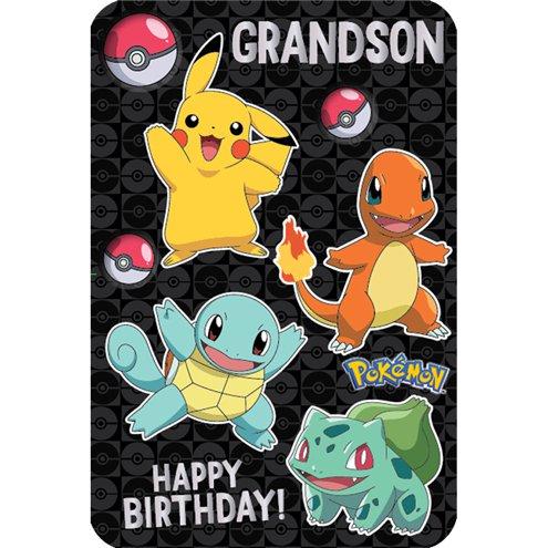 Pokmon Grandson Birthday Card