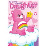 Care Bears Daughter Birthday Card