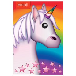 Unicorn Emoji Birthday Card