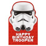 Stormtrooper Birthday Card