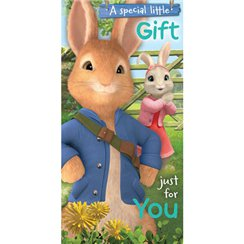 Peter Rabbit Money Wallet - 192mm x 95mm